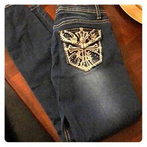 Girls skinny jeans size 12